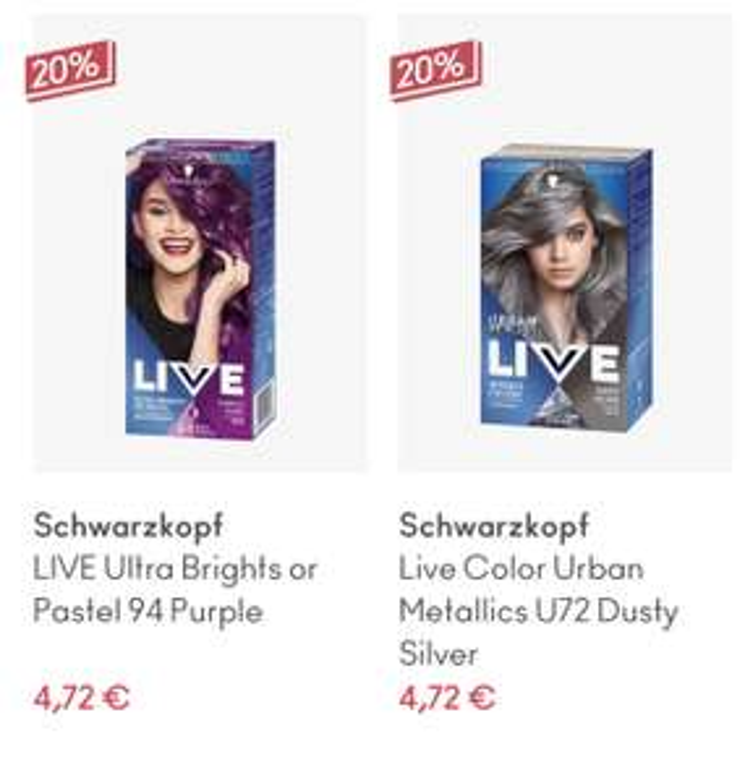 Schwarzkopf Live Color en meer