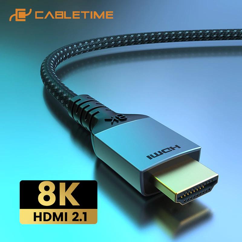 Cabletime 8K 60hz/4K 144hz kabel @ Aliexpress [10 daagse levering]