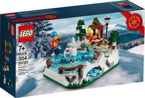 Lego 40416 - Limited Edition Ijsbaan