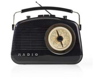 Nedis Retro Bluetooth radio