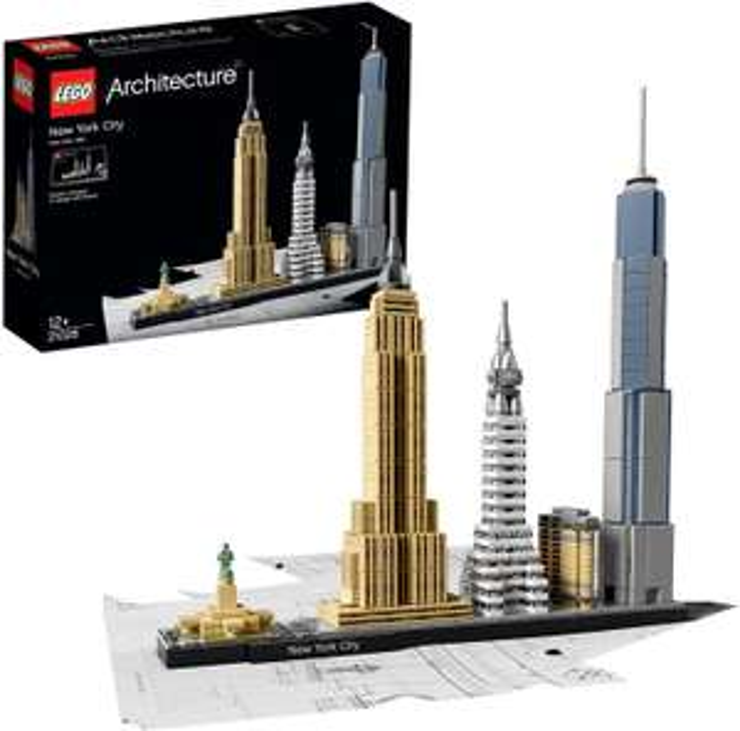 LEGO 21028 Archicture New York, stad skyline bouw set (598 onderdelen)