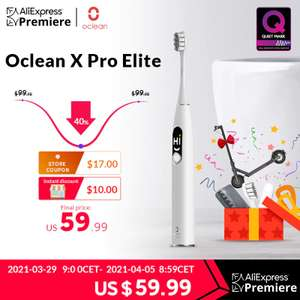 Oclean x Pro Electric Toothbrush