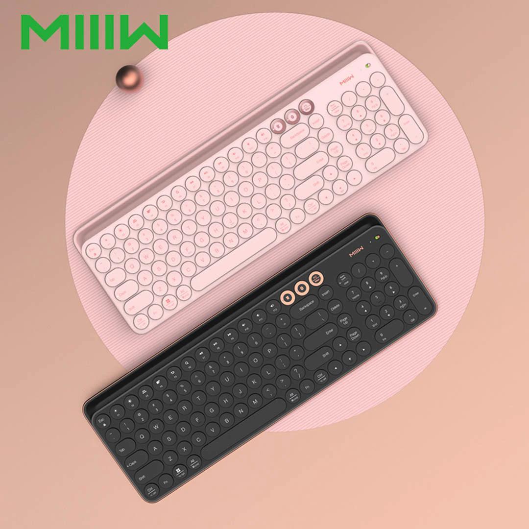MiiiW draadloos toetsenbord voor Windows, Mac, Android en iOS