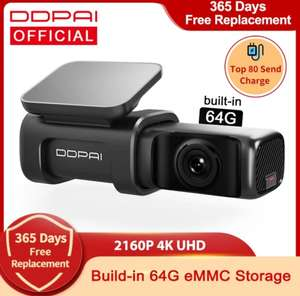 DDPai Mini 5 True 4K Wifi GPS 64gb dashcam