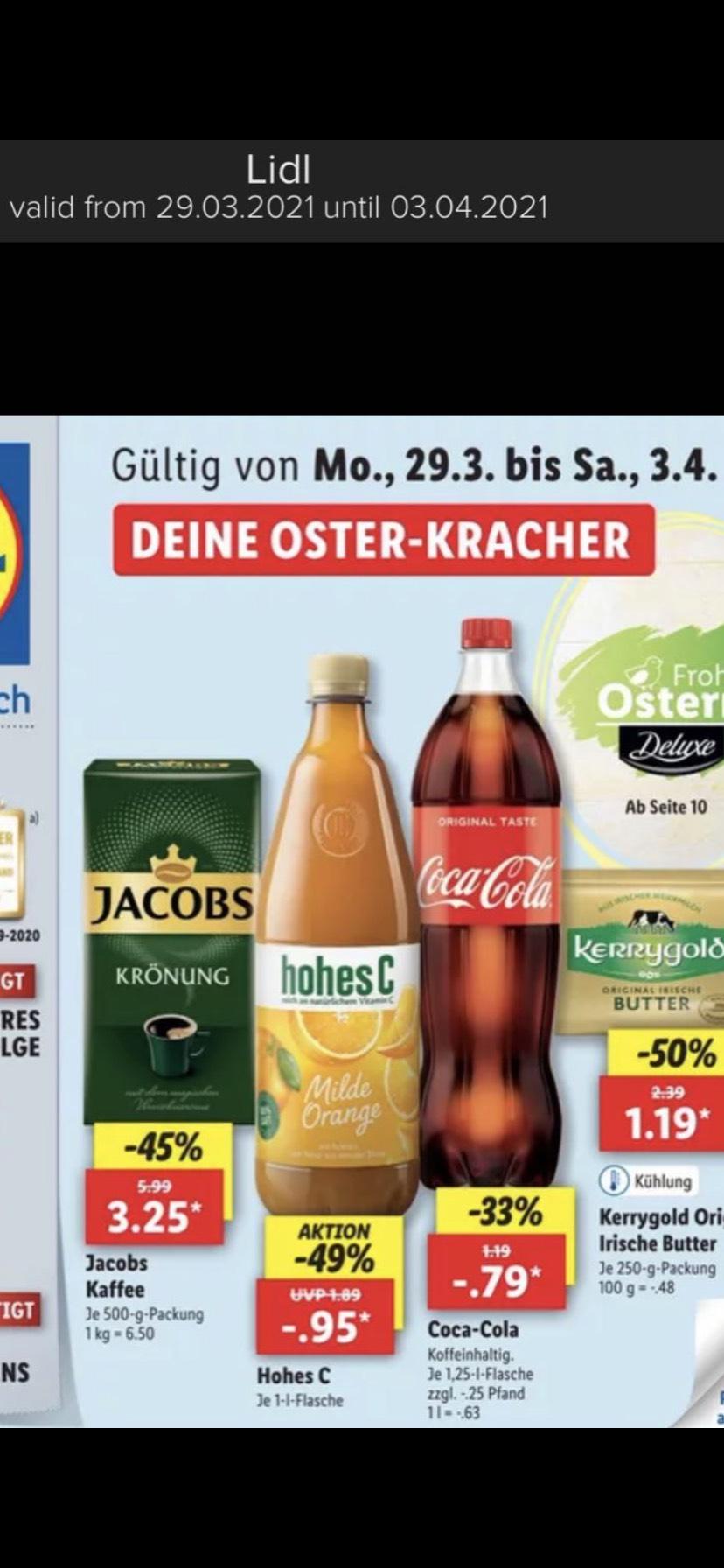 Coca-Cola en Fanta (Lokaal?)