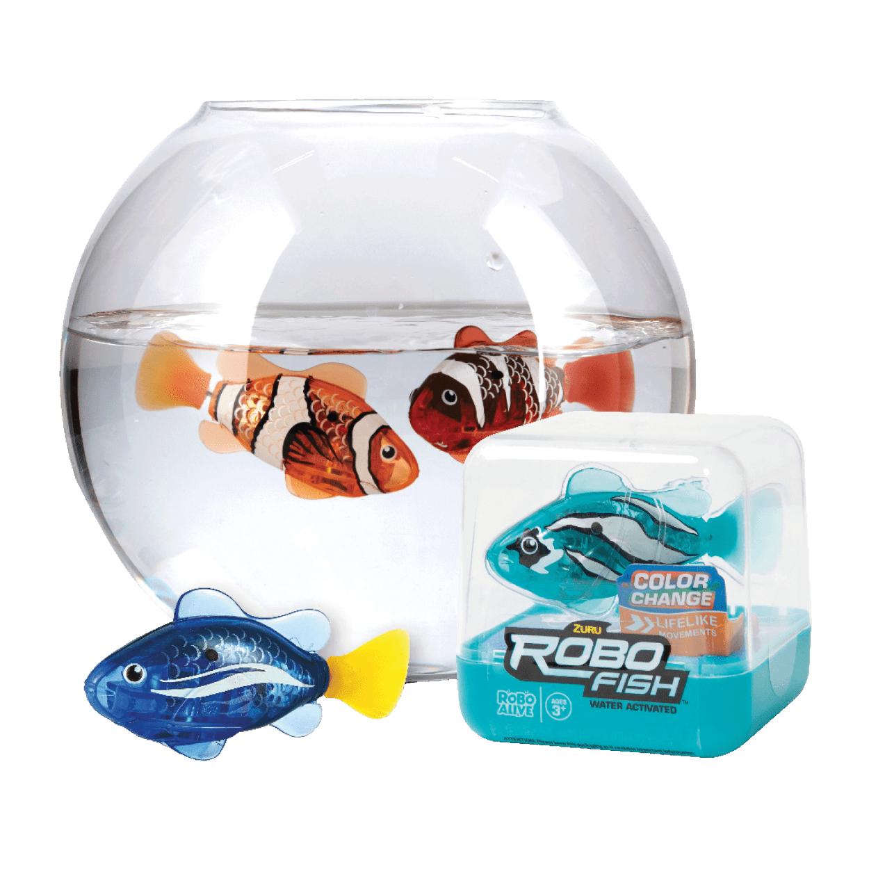 Robo fish bij de Aldi vanaf wo. 31-03