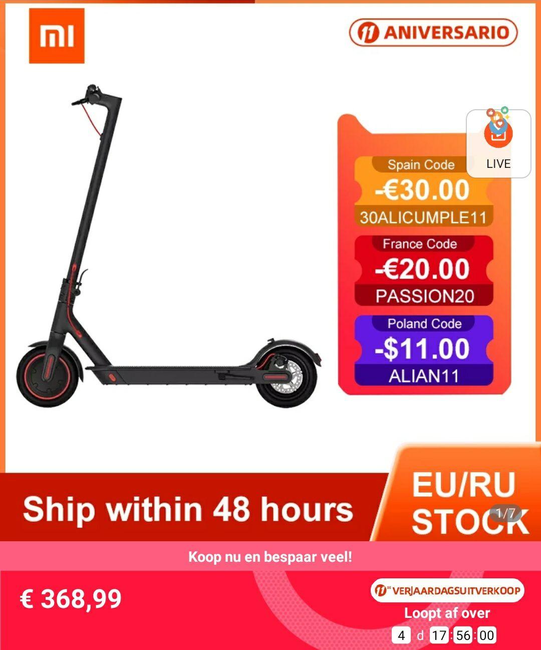 Xiaomi mi scooter m365 Pro