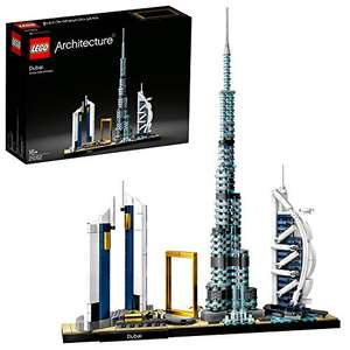 Lego 21052 Architecture Dubai Skyline - 740 stenen