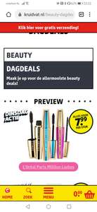 [Dagaanbieding] L'Oréal Paris - Volume Million Lashes mascara's @ Kruidvat