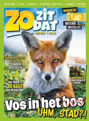 Zo zit dat. Tijdschrift 3 euro p/m