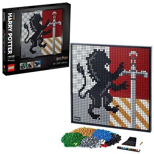 Lego 31201 - Harry Potter Hogwarts Crests voor volwassenen (4249 delig)
