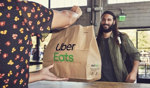 €1 voor €20 korting op je eerste bestelling bij Uber Eats