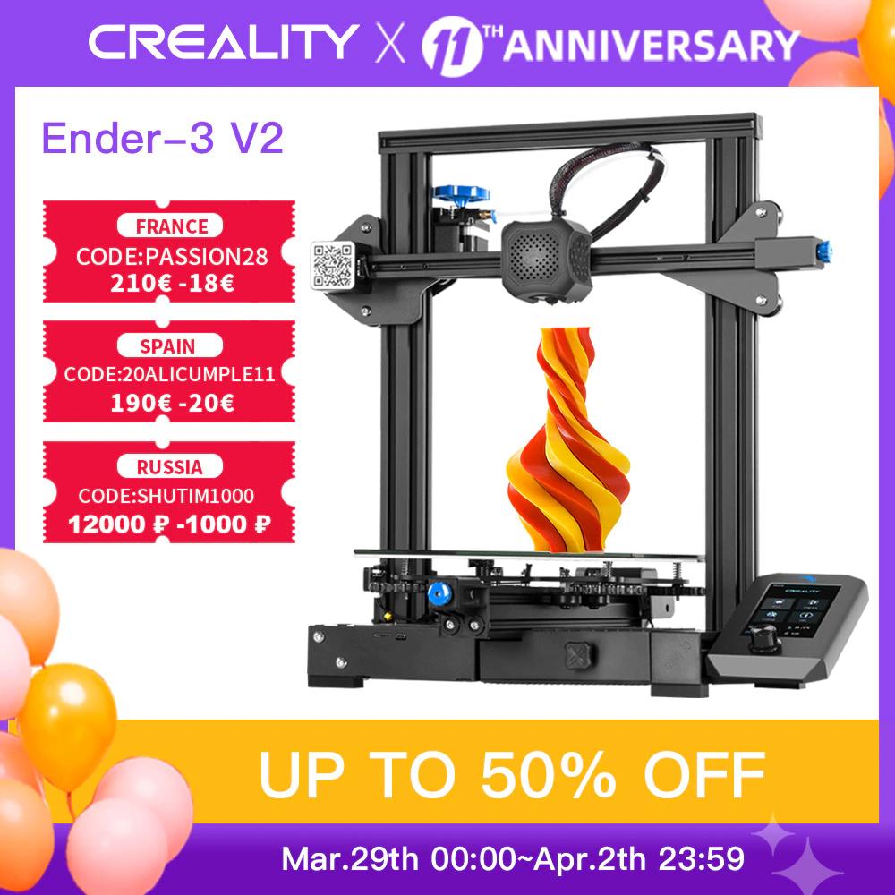 Creality Ender 3 V2 + 2KG Ender Filament for € 177.40 including shipping from Poland