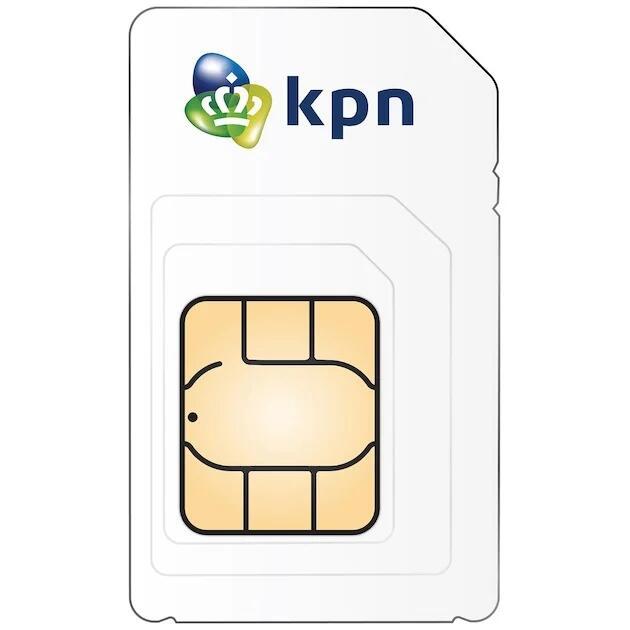 Gratis KPN Prepaid simkaart + 10 euro beltegoed.