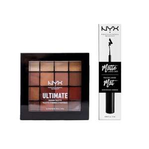 NYX Professional Makeup Shadow & Liner Kit cadeauset