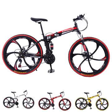 Kaimarte 26 inch opvouwbare mountainbike met 21 versnellingen