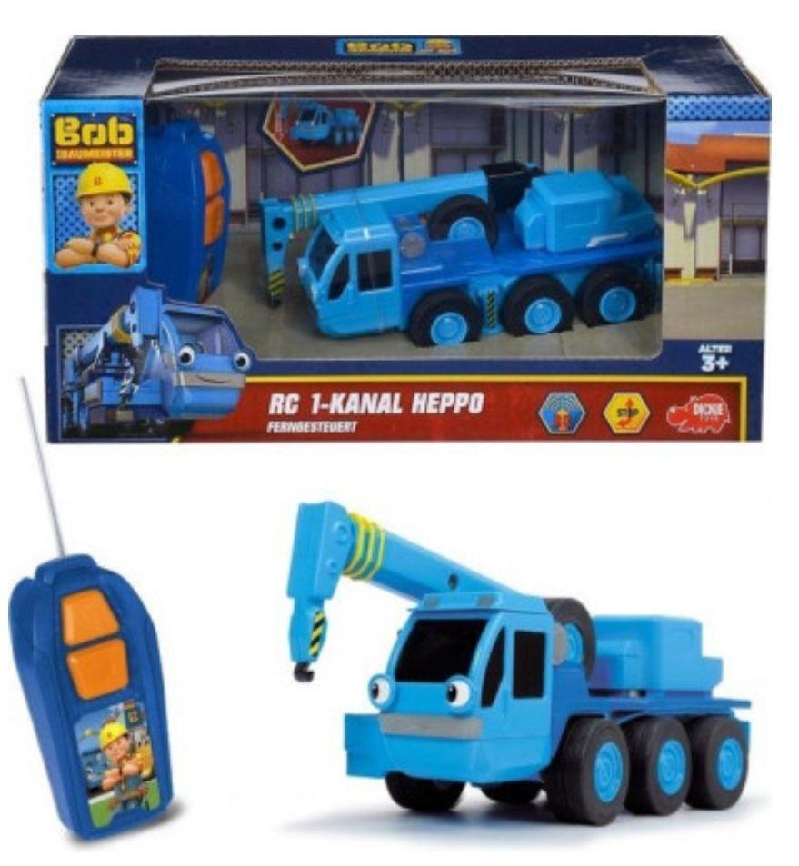 Dickie Toys Bob de bouwer - Heppo