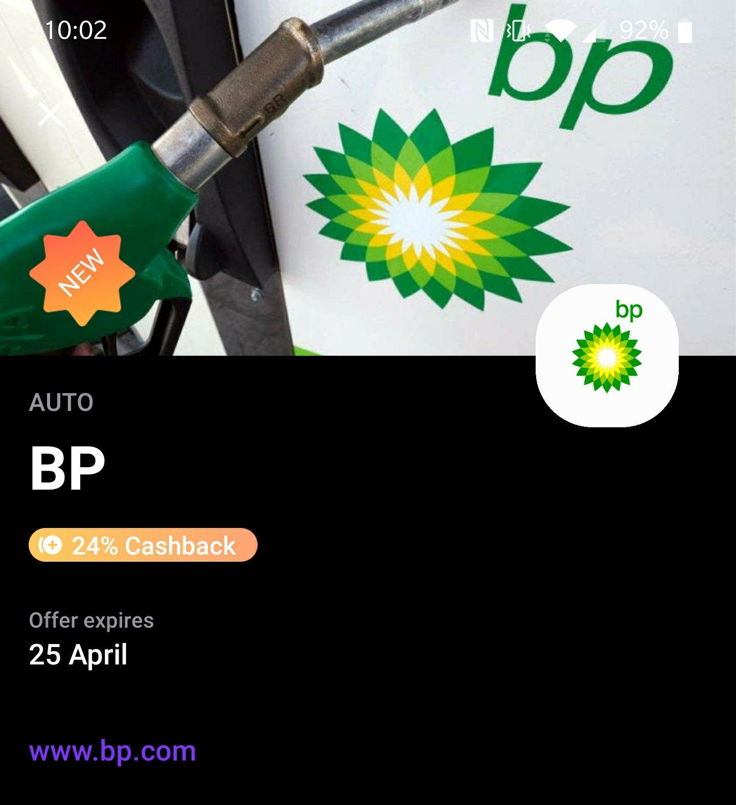 24% korting op tanken bij BP & meer met Vivid
