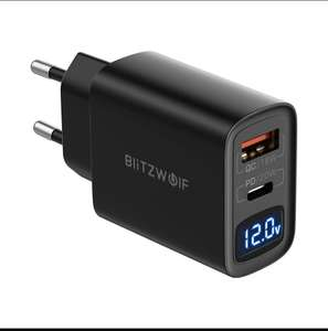 BlitzWolf® BW-S19 20W 2-Port USB PD Charger PD3.0 PPS QC3.0 SCP FCP AFC Fast Charging EU Plug