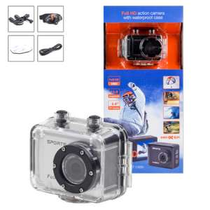 FULL HD Action Camera voor €34,99 @ Action