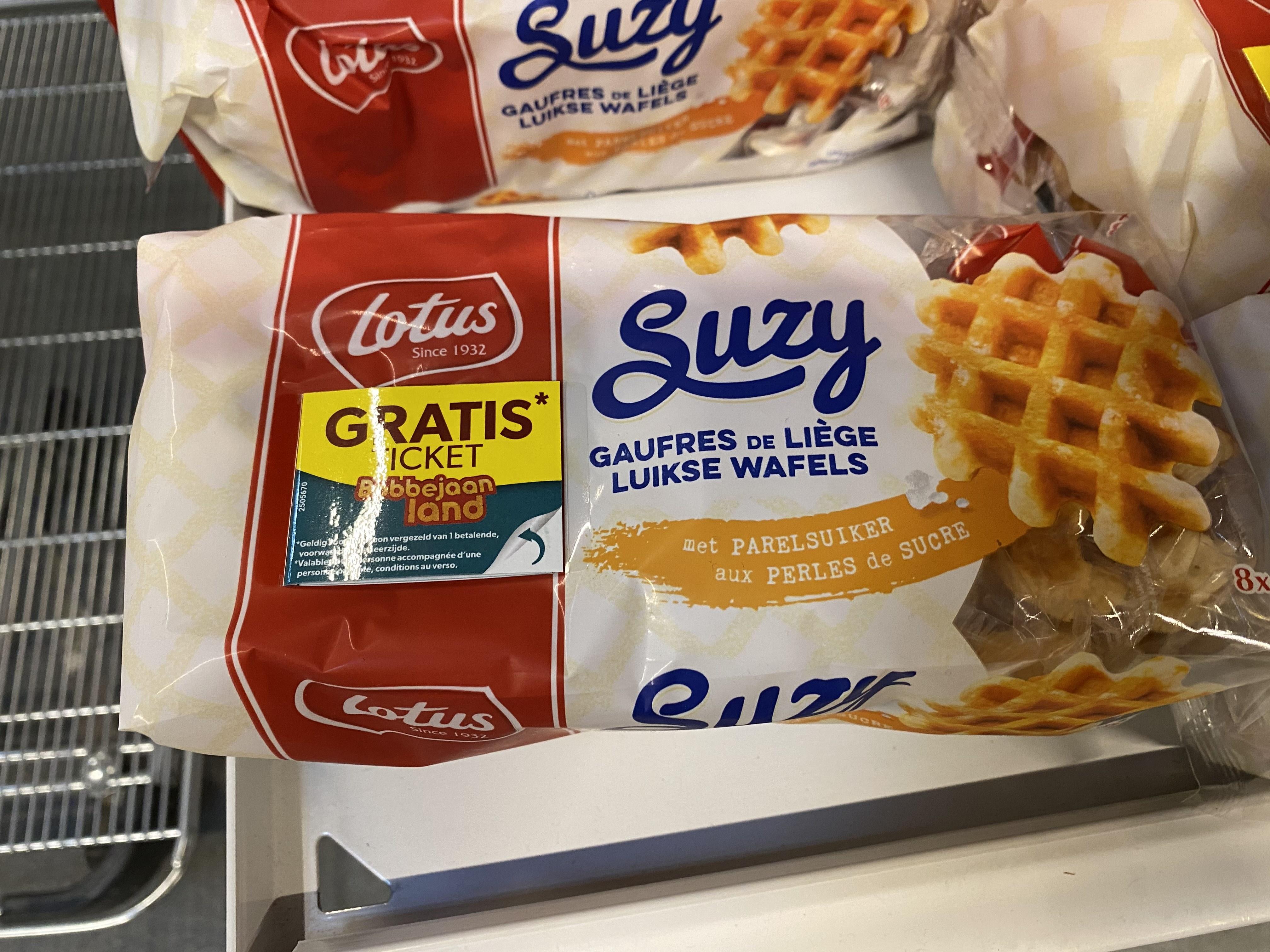 [Grensdeal] Bobbejaanlandticket bij aankoop Lotus Suzy wafels
