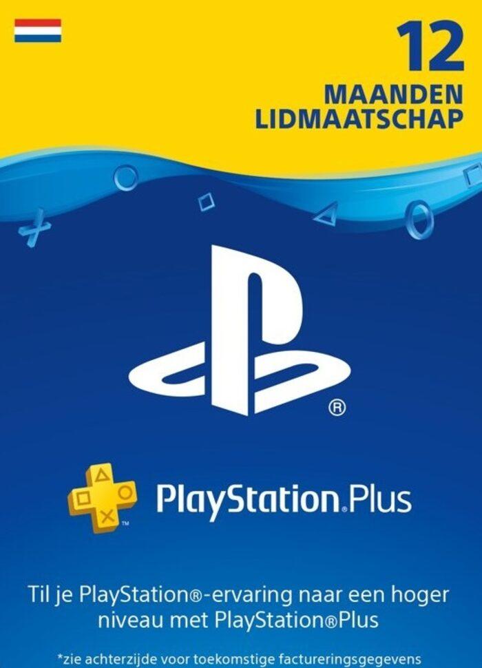 PlayStation Plus 12 maanden NL (digitale code) voor €44,98 @ Eneba