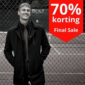SALE: alles 70% korting [herenmode o.a. Superdry / Scotch & Soda / Hilfiger]