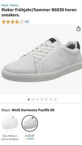 Rieker heren sneakers wit maat 42,45 en46