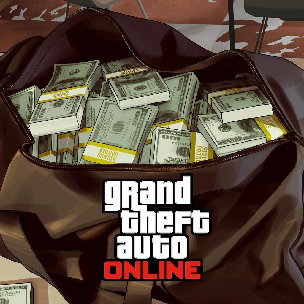PS Plus: 1 miljoen GTA$ voor GTA Online gratis te claimen @ PSN