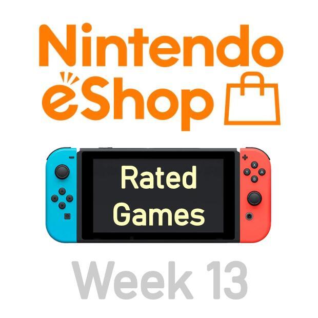 Nintendo Switch eShop aanbiedingen 2021 week 13 (deel 1/2) games met Metacritic score