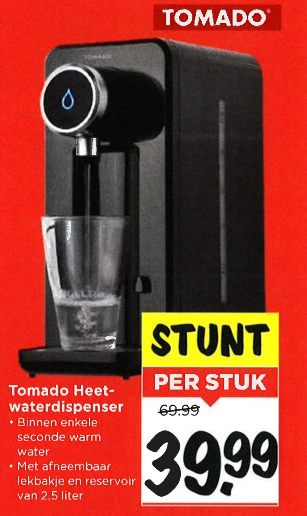 Tomado heetwaterdispenser