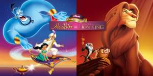 Nintendo Switch Disney Classic Games: Aladdin and The Lion King @nintendo e-shop