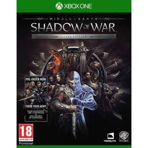 Middle Earth Shadow of War Silver Edition (Xbox One/PS4) @ Shop4NL