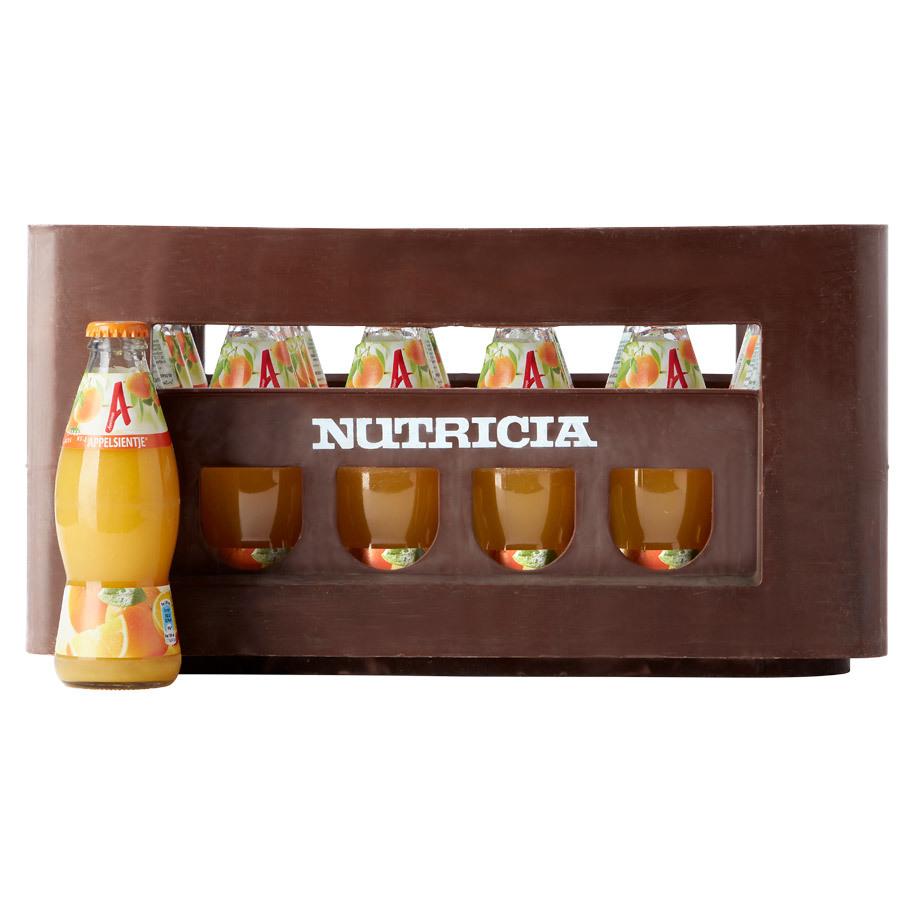 24 flesjes van 200ml Appelsientje of DubbelFrisss €2,99 (+ €3,90 statiegeld) @ Die Grenze