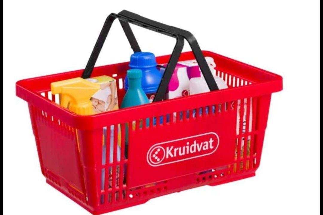 Kruidvat speelgoed winkelmandje 12-delig @ Kruidvat