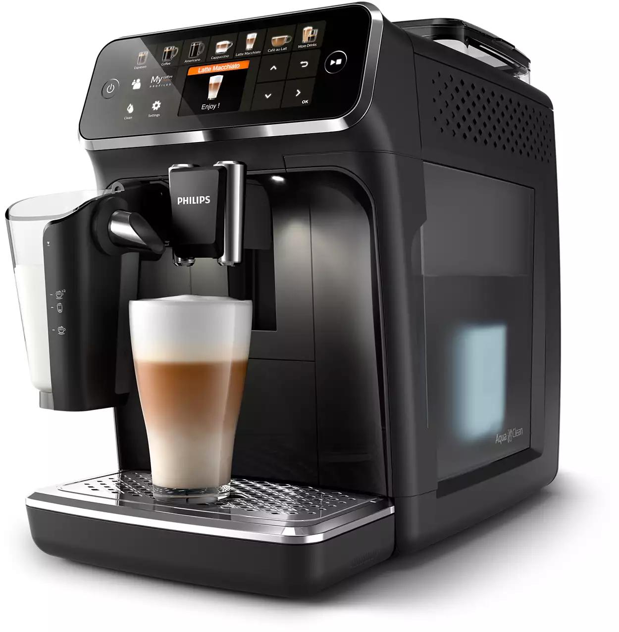 Philips 5400 Series Volautomatische espressomachines 12 soorten koffie LatteGo