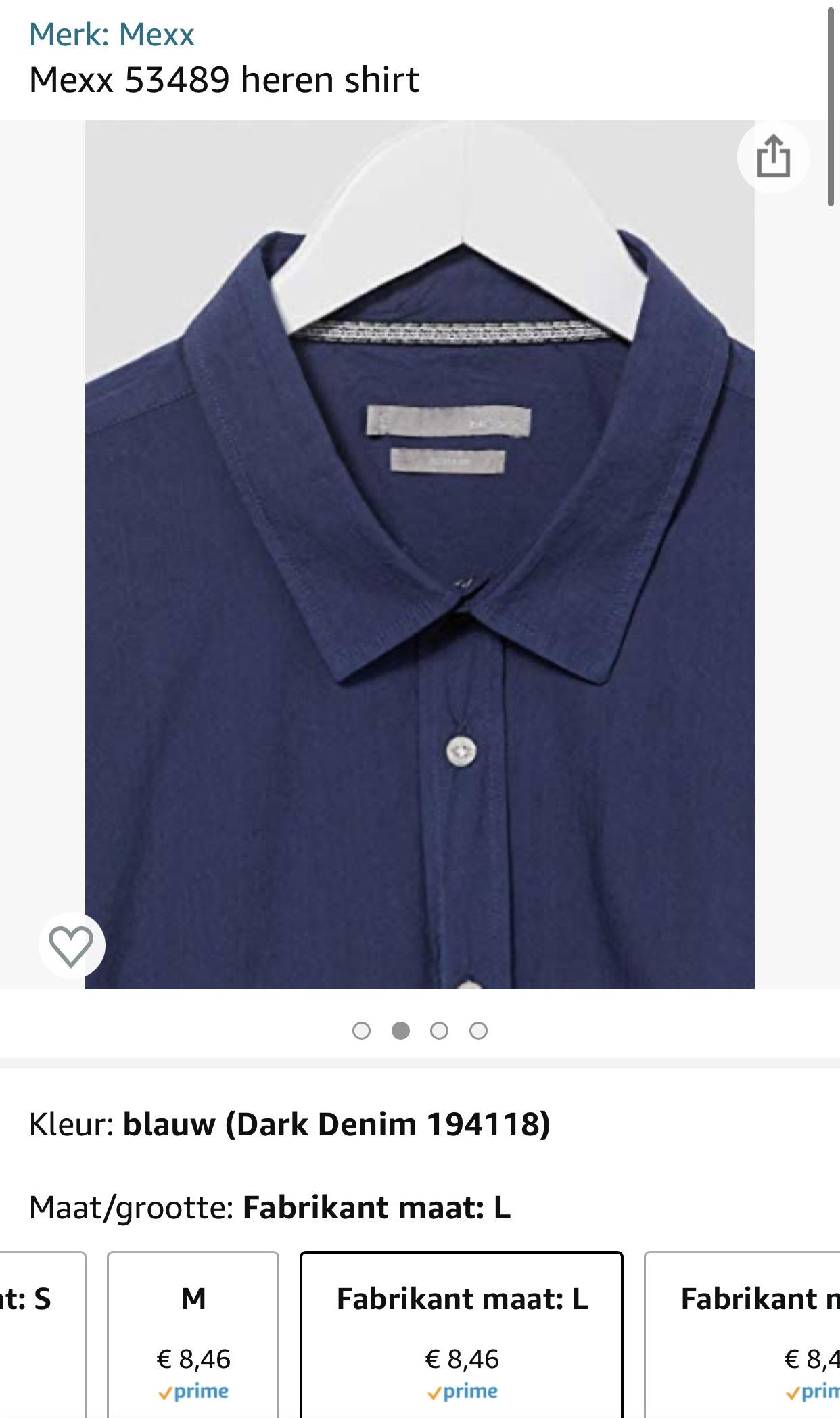 Mexx heren overhemd