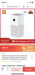 € 88,72 49% Off | Global Versie Xiaomi Mijia Mi Luchtreiniger Xiaomi Air purifier 3C