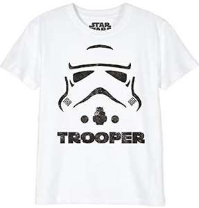 Cotton Division - Star Wars Storm trooper t-shirt kids (vanaf 6jr t/m 14jr)