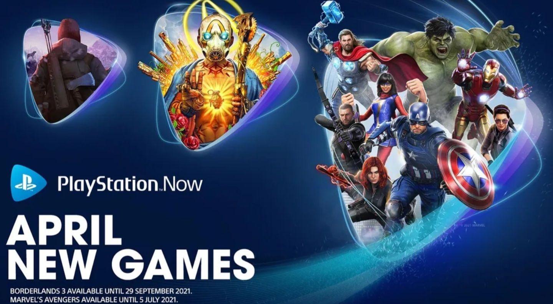 Marvel's Avengers, Borderlands 3 en The Long Dark bij Playstation Now
