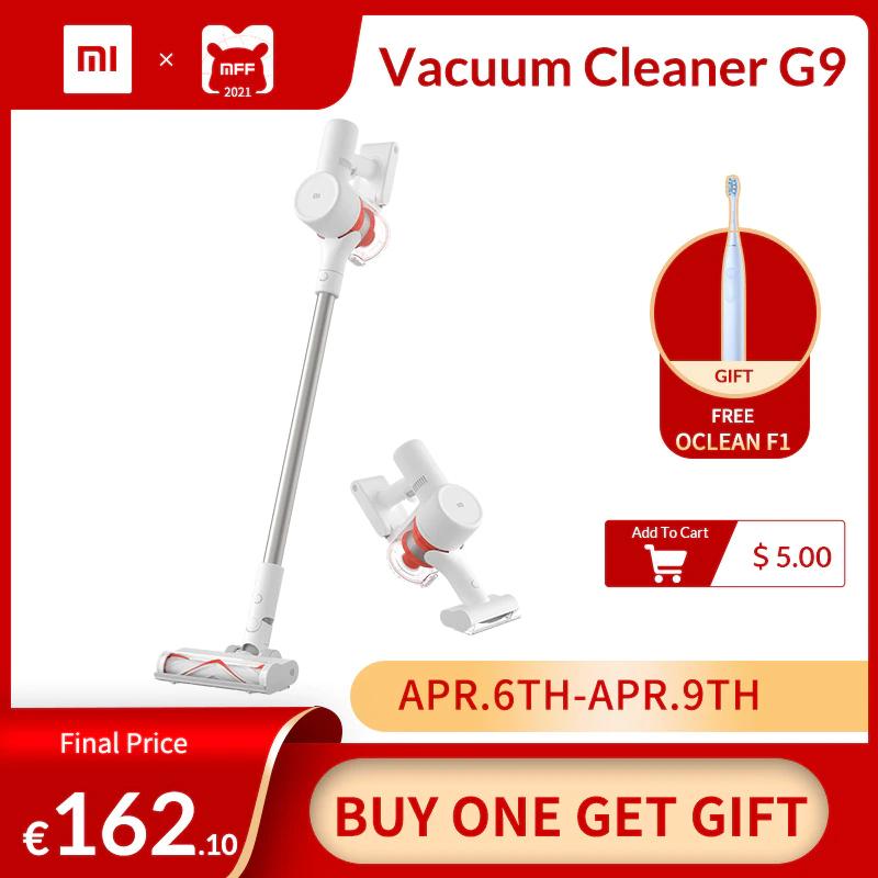 Xiaomi Mi G9 stofzuiger + gratis Oclean F1 tandenborstel - EU verzending