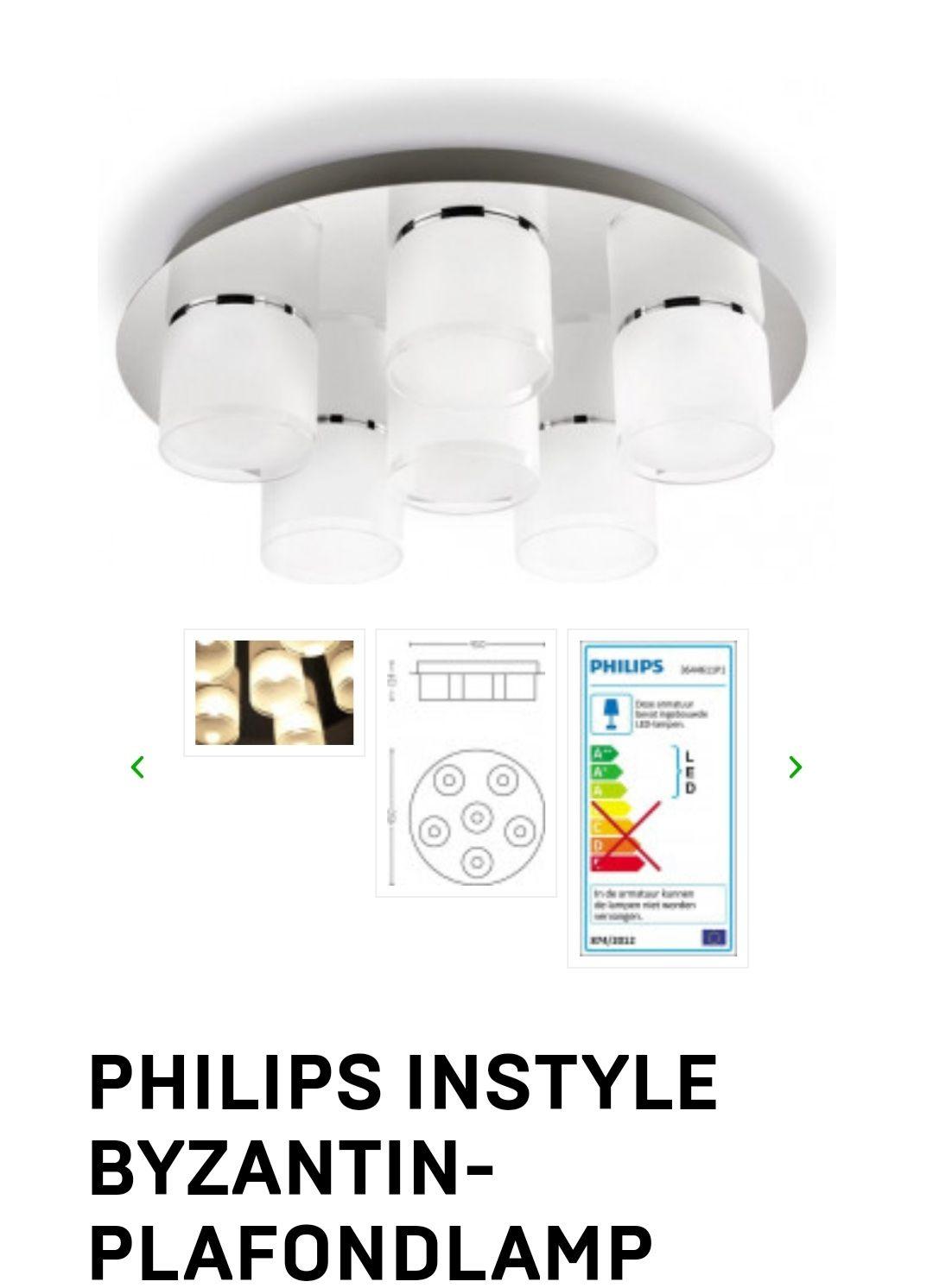 Philips InStyle Byzantin plafondlamp