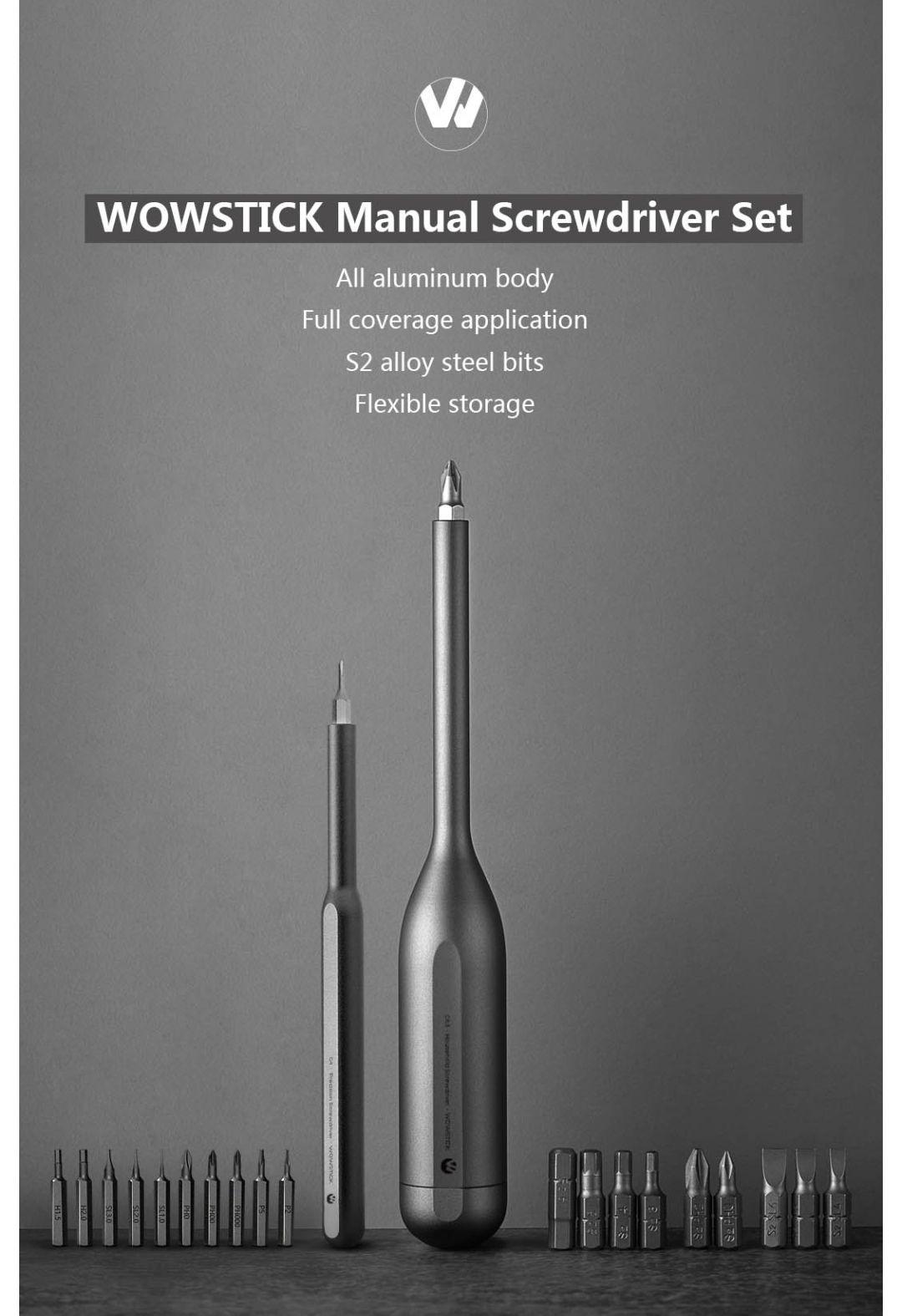 Wowstick 22 in 1 schroevendraaier set