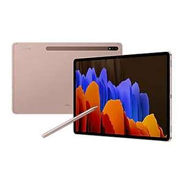 """Galaxy Tab S7+ (12.4"""", Wi-Fi) brons via ING Samsung Store en spelletje code"""