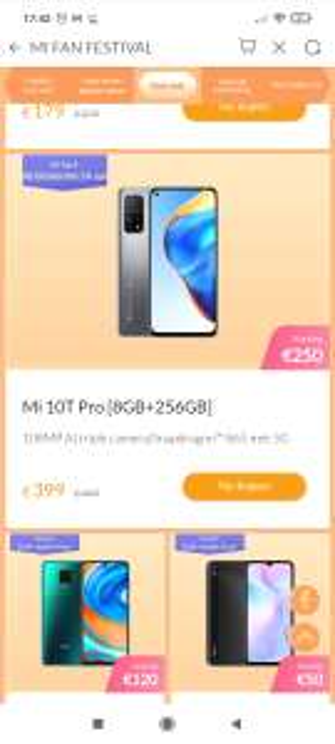 Xiaomi mi10T pro 8gb / 256GB