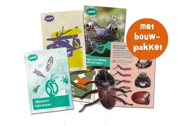 Gratis Oerrr Super Lentepakket met Bouwpakketje (leuk voor de kids)