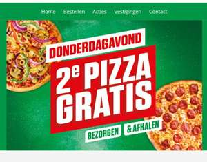 2e pizza gratis @ New York Pizza