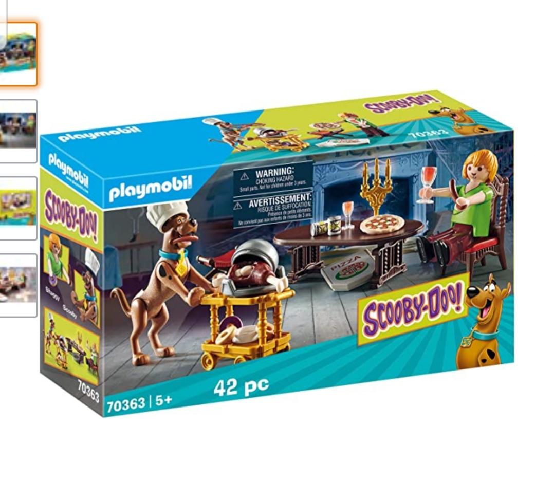 PLAYMOBIL SCOOBY-DOO! 70363 Diner met Scooby, vanaf 5 jaar, 42-delige set