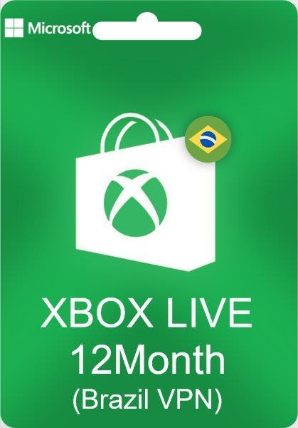 XBOX Live Gold 12 maanden (Brazilië) @ Gamivo