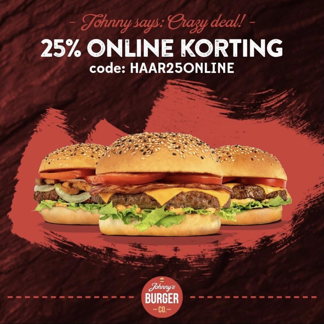 [lokaal][haarlem] Crazy deal bij Johnny's Burger